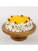 Ferns N Petals Cream Pista Cake, eggless