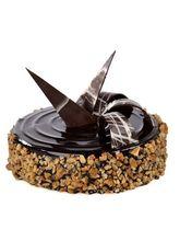 Ferns N Petals Chocolate Walnut Truffle Half Kg Eg...