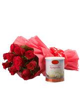 Ferns N Petals Roses Glory