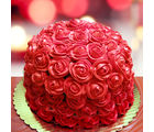 Ferns N Petals Special Delicious Red Rose Cake Half Kg