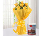 Ferns N Petals Roses N Gulab Jamun