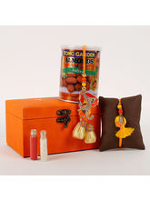 Ferns N Petals Rakhi Special Box Orange