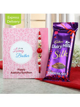 Ferns N Petals Cadbury Silk With Rakhi