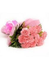 Ferns N Petals Pink Combination