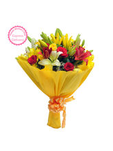 Ferns N Petals Mothers Day Special Mixed Roses N L...