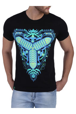 TRI-PETRUSIONS; BLACK (GLOW IN THE DARK), xl