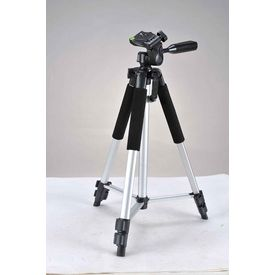 Photron Tripod Stedy 450 with Pan Head 4.5 Feet+ Extra Quick Release Plate+ Foam Grip+ Carry Case