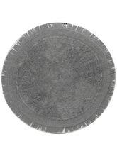 Decordlite Gray Round Door Mat (2002Decor_ Bm), mediun