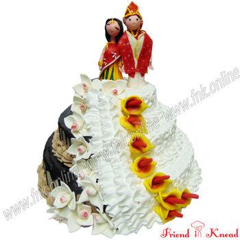 The Wedding Eve Cake, egg, 8 pm - 9 pm, 6 kg