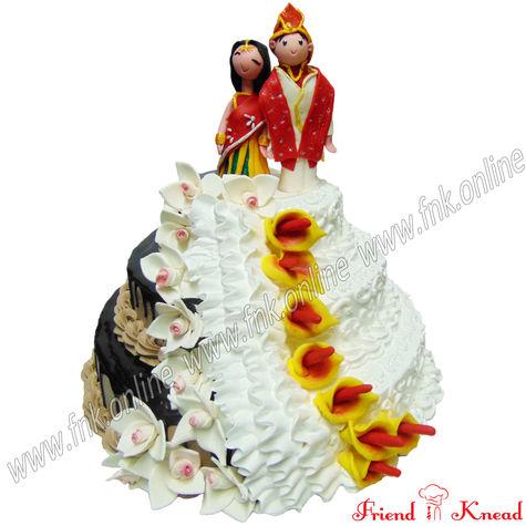 The Wedding Eve Cake