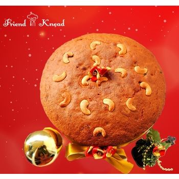 Premium Christmas Plum Cake - 1 Kg, select time