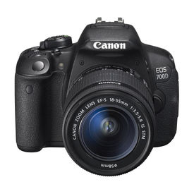 Canon EOS 700D DSLR With Kit (EF S18-55 IS STM),  black