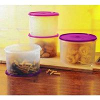 Tupperware Super Round Container Set -4 Pcs