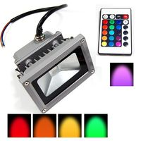 SuperDeals 10 Watt Flood Light High Quality Imported RGB Color