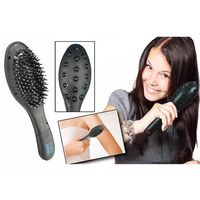 SuperDeals Magnetic Hair Brush with Electronic Head Massager