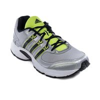 ADIDAS VANQUISH NAVY SILVER SHOES, 10