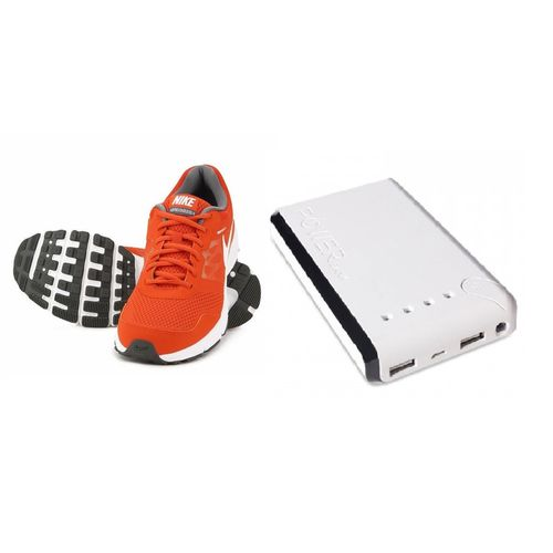 Nike Shoes with 13000 MAh Power Bank, 9