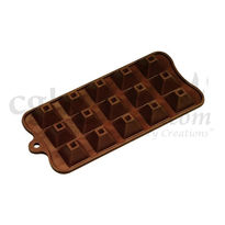 Silicone Pyramid Shape - 6 - Chocolate Mould