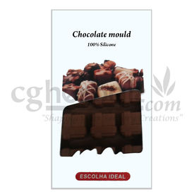 Silicone Square Shape - 9 - Chocolate Mould