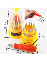 Fleejost 6036A 31-In-1 Multi-Function Screwdriver Professional Versatile Precision Electronic Hardware Repair Tool Kit