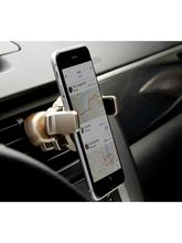 Fleejost™ Air-Vent Car Mount Mobile Holder Stand All Mobile Phones[ 4 Inch to 5.55 Inch]