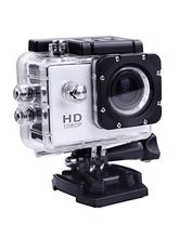 Fleejost Action Camera 1080P Sport Waterproof Camc...