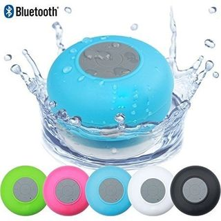 Fleejost Portable Waterproof Bluetooth Wireless Stereo Shower Speakers
