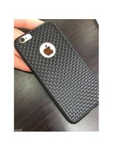 Fleejost Protection Premium Dotted Designed Soft Rubberised Back Case Cover For Lenovo Vibe K5 Note -Black
