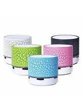 Fleejost Portable Wireless Led Bluetooth Speaker With Usb Slot
