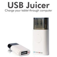 Portronics USB Juicer - Charges All USB Devices through Laptop