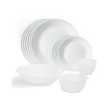 Corelle Livingware Winter Frost White 20 Pcs Dinner Set
