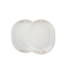 Corelle India Impression 2 Pcs Oval Serving Platter