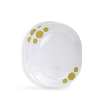 Corelle India Collection Spiral 2 Pcs Oval Serving Platter