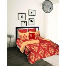 Tangerine Fete Bedsheet Set King 1200022