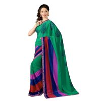 7 Colors Lifestyle Faux Georgette Printed Saree - ABASR552ASUHM
