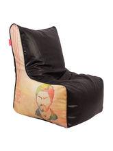 Orka YRF Chak De India Digital Printed Bean Chair Filled With Beans, xl