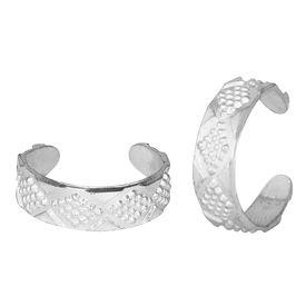 Eva Silver Toe Ring-TRRD015