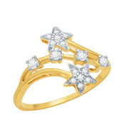 Dazzling Diamond Ring - DAR22, si - ijk, 12, 14 kt