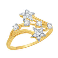 Dazzling Diamond Ring - DAR22, si - ijk, 12, 18 kt