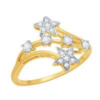 Dazzling Diamond Ring - DAR22, si - ijk, 12, 18 kt