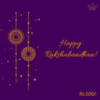 Rakshabandhan Gift Card, 500