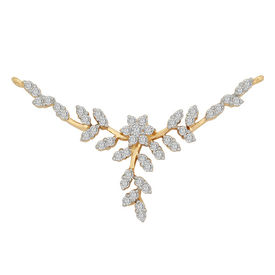 Diamond Mangalsutra - GUTS0083TA, si - ijk, 14 kt