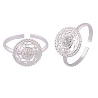 Antique Chakra Silver Toe Rings-TRMX100