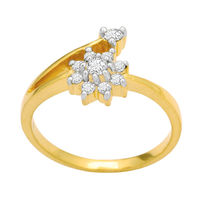 Amazing Diamond Ring - GUR0149, si - ijk, 12, 14 kt