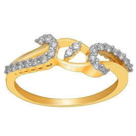 Alluring Diamond Ring - BAR2298SJ, si - ijk, 12, 14 kt