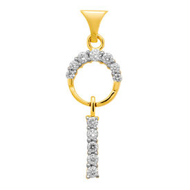 Diamond Pendant - DAPS028P