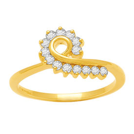 Pretty Diamond Ring - BAR987