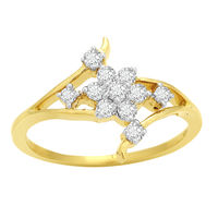Pretty Diamond Ring - BAPS180R, si - ijk, 12, 14 kt