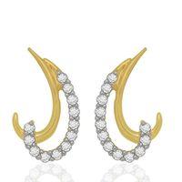 Moonlet Diamonds Studs- BAPS0532ER, si - ijk, 18 kt