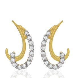 Charming Earrings - BAPS0532ER, si - ijk, 14 kt